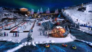 Indoor snow themepark - Alps / Arctic World Resort