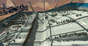 Indoor snow themepark - Arctic World overview