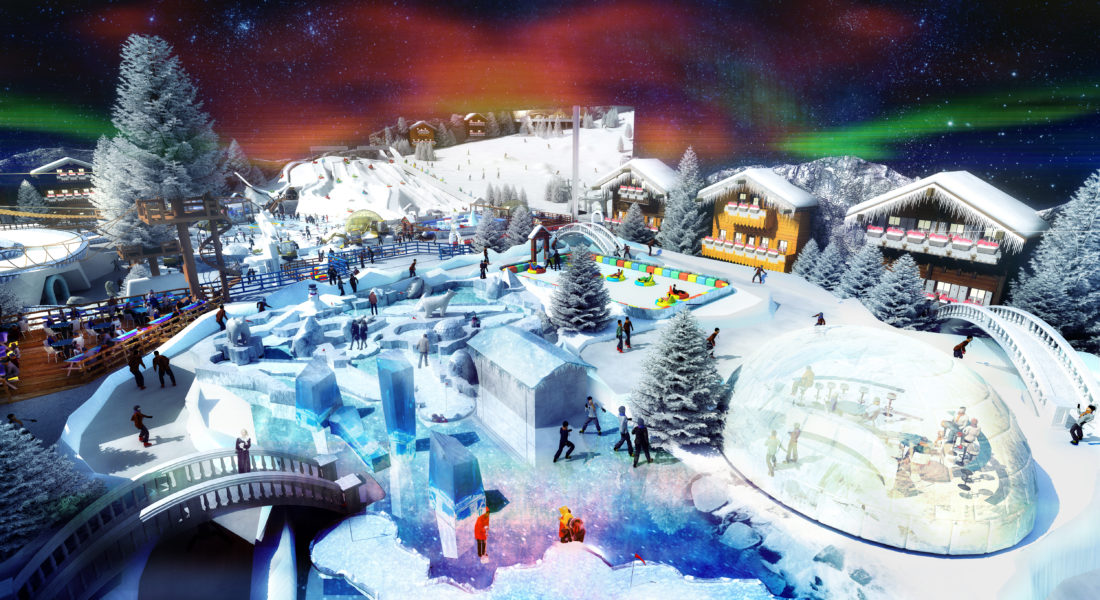Indoor snow themepark - Cold zone