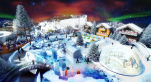 Indoor snow themepark - Cold zone