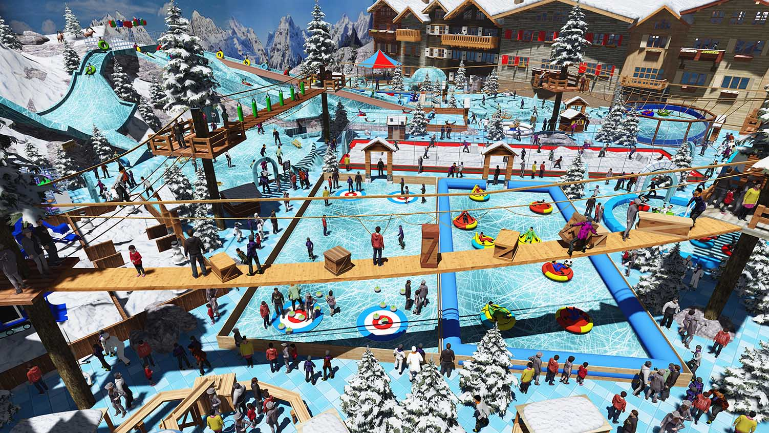 A Large Choice of Instant Fun Snow & Ice Attractions
