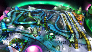 Indoor snow themepark - Arctic Kart