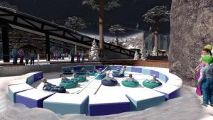 Indoor snow themepark - Snowplay Snow Caroussel