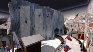 Indoor snow themepark - Snowplay Edelweis Climbing