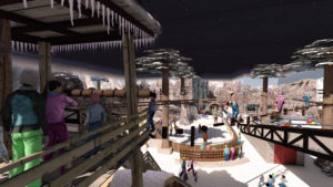 Indoor snow themepark - Snowplay High Ropes Course