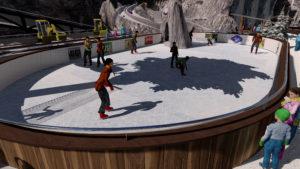 Indoor snow themepark - Snowplay Ice Skating Rink
