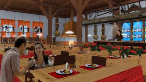 Indoor snow themepark - Alpine Cafe