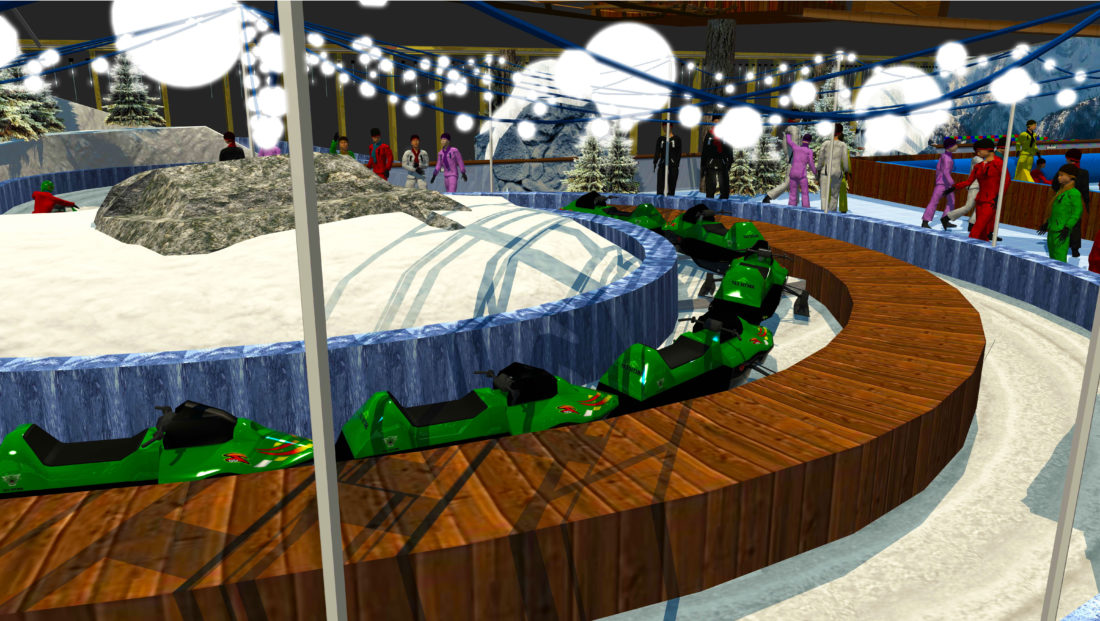 Indoor snow themepark - Arctic Kart