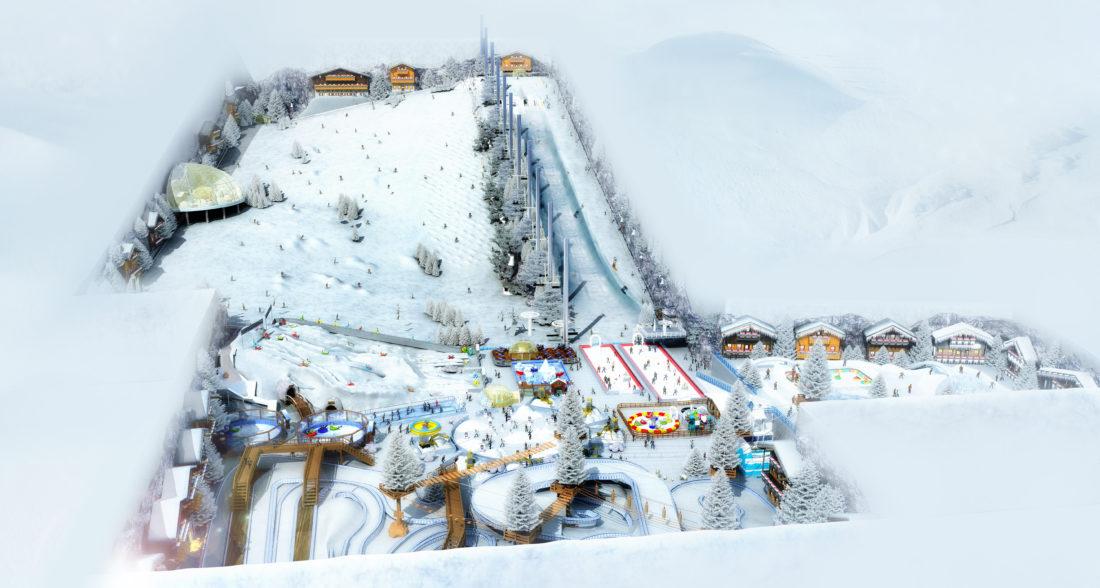 Indoor snow themepark - SnowXS