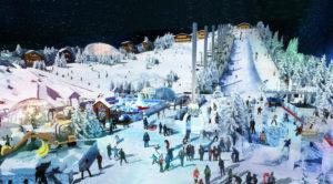 Indoor snow themepark - Arctic Ocean